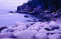 Otter Cliffs in Acadia National Park. Maine, USA