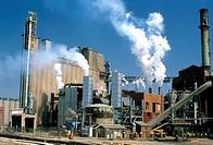 Archer Daniels Midland ethanol plant in Peoria, Illinois.