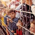 italy, puglia, otranto, refugees kosovo war, 1999