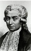 Luigi Galvani (1737-1798), Italian anatomist. Galvani noticed that dead frogs twitched when included in a circuit with metals. This led him to propose...