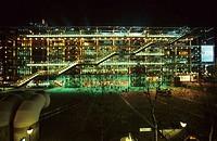 Georges Pompidou Centre. Paris. France.