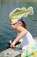 Boys and girls learn the pleasure of fishing at a young age at a sponsored childrens learning fair