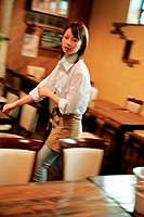 preparation,waitress
