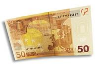 50 Euro note backside