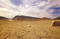 Gamskapoortdam, dry lands, Little Karoo, South Africa