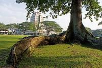 Merdeka Hotel, Kuching. Sarawak, Borneo. Malaysia