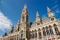 Rathaus (Town Hall), Vienna. Austria