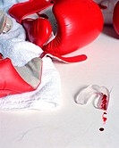 Boxing glove and gumshield
