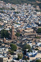 Clock Tower & Sadar Market, Jodhpur, Rajasthan, India