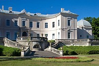 Palace of Count Feliksas Tiskeviciusz (now Amber Museum) and gardens, Palanga. Lithuania  Tiskevicius