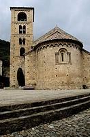 Sant Cristofol church. Beget. Ripollès. Alta Garrotxa. Catalunya. Spain.