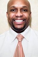 Portrait of businessman smiling