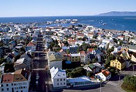 Reykjavik, Laekjargata/ Stadtansicht