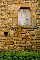 Popular architecture. Aldea de Ebro. Valderredible. Cantabria. Spain.