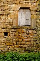 Popular architecture. Aldea de Ebro. Valderredible. Cantabria. Spain.