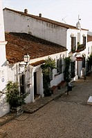 Typical houses, Aracena. Huelva province, Andalusia, Spain