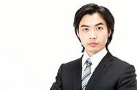 Portrait of a Businessman Wearing a Suit