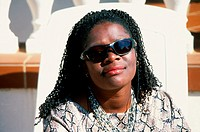 Woman wearing Sunglasses, Portrait ,South Africa