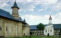 monastery, tirgu neamt, romania