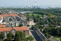Aerial view, Copenhagen, Denmark