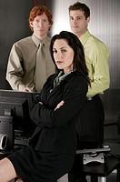 Business team, portrait