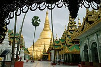Shwedagon Pagoda. Yangon. Myanmar (Burma).