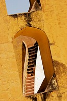 Low angle view of a staircase, Jantar Mantar, Jaipur, Rajasthan, India