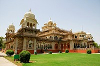 Low angle view of a museum, Government Central Museum, Jaipur, Rajasthan, India