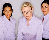 Three businesswomen, portrait