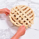 Pie with Lattice Crust