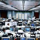 Bank Trading Room
