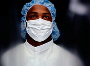 Blurred Portrait of a Surgeon