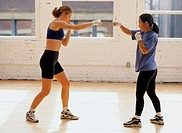 Women Kick Boxing