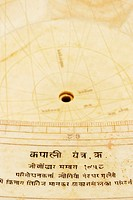 Close-up of a sun dial, Jantar Mantar, Jaipur, Rajasthan, India