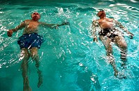 Men Swimming