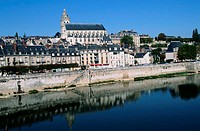 Blois -- Reflection in Loire River