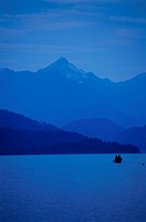 BRITISH COLUMBIA LAKE, CANOEING