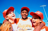 Children Baseball Players, Friends