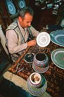 asia, turkey, cappadocia, avanos, handicraft