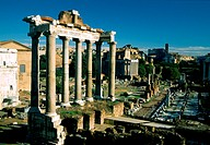 europe, italy, rome, saturn´s temple