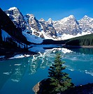 Moraine Lake. Banff National Park. Canada