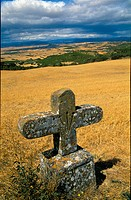 Cross, Artajona, Navarre, Spain