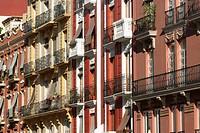 Building façade, Valencia. Comunidad Valenciana, Spain