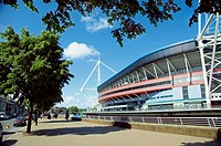 Millennium Stadium, Cardiff, Wales, Great Britain