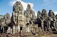 Temple complex of Angkor Wat. Angkor. Cambodia