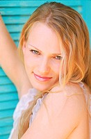 Portrait of a Young Woman With Blonde Hair (thumbnail)