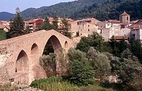 Sant Joan de les Abadesses. Girona province. Spain