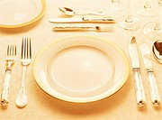 Single Place Setting on a Table