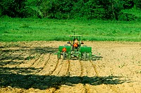 Planting corn in Virginia