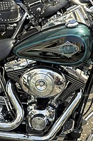 Close_up of motorcycle